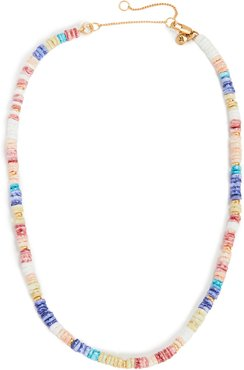 Puka Shell Beaded Necklace