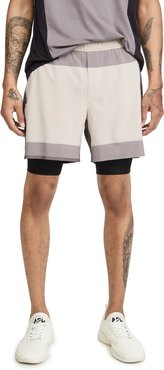 Take The Moment Shorts 6 Lined