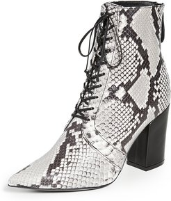 Amelia Lace Up Ankle Boots