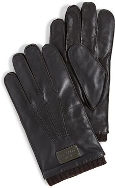 Blokey Leather Stab Stitched Gloves