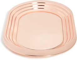Copper Plated Plum Tray