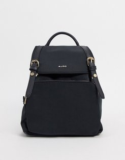 Rella backpack with gold detailing in black