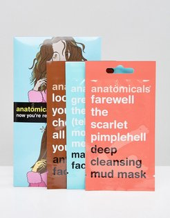 Face Mask Pack x 3-No Color