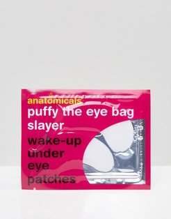 Puffy The Eye Bag Slayer Wake-Up Under Eye Patches-No Color