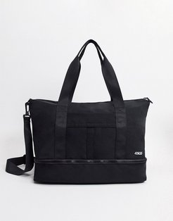 4505 holdall with trainer compartment-Black