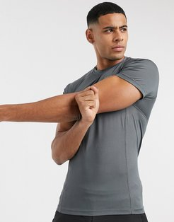 4505 icon muscle training T-shirt with quick dry in gray
