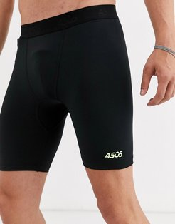 4505 icon training tights in short length with quick dry in black