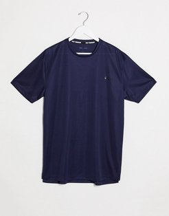 4505 oversized workout T-shirt in navy