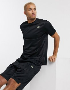 4505 oversized training t-shirt with quick dry in black