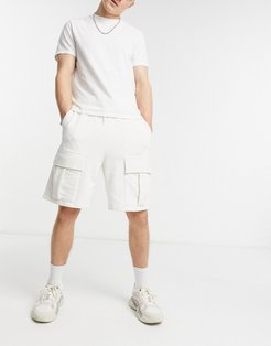 4505 sweat shorts with cargo pockets-Green