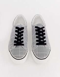 Diffuse lace up sneakers-Multi