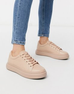 Doro chunky lace up sneakers-Neutral