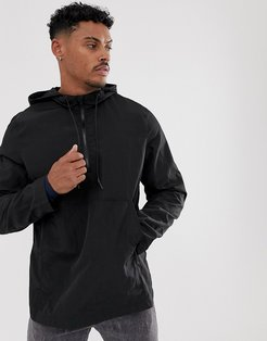 water resistant jacket in black