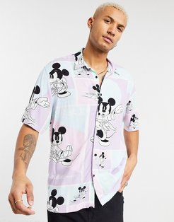 Mickey Mouse shirt in purple