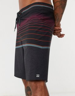 North Point Pro board shorts in black