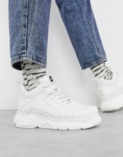 cloud chunky sole sneakers in white