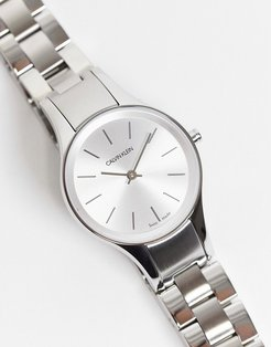 bracelet watch in mixed metal-Silver
