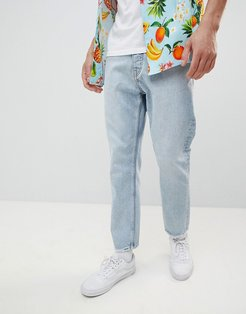 In Law Tapered Jeans Pixel Blue-Blues