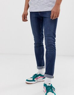 tight skinny jeans in pure blue-Blues