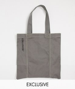 Unisex tote bag in gray-Grey