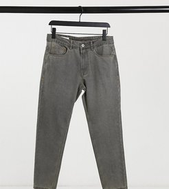 x003 tapered jeans in gray-Grey