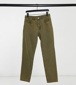 x003 tapered jeans in nicotine wash-Black