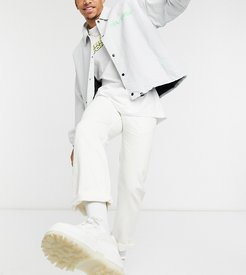 x005 straight leg jeans in washed winter white