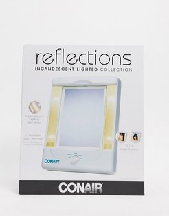 reflections 1x/10x led rose gold makeup mirror-No Color