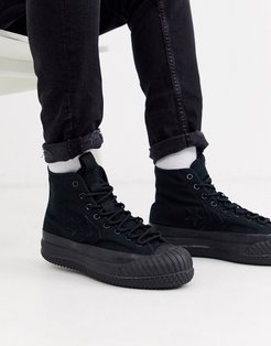 Bosey MC Water Repellent sneaker boots in black