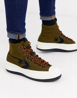 Bosey MC Water Repellent sneaker boots in khaki-Green