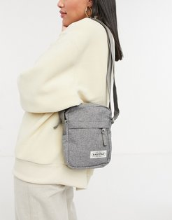 the one cross body bag in muted gray-Grey
