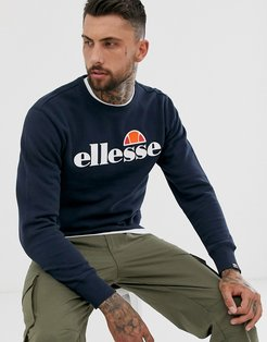 Succiso sweatshirt with classic logo in navy