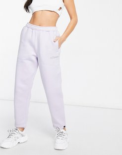sweatpants with crystal logo in lilac- exclusive to ASOS-Purple