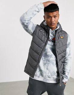 Zullo recycled vest in gray-Grey