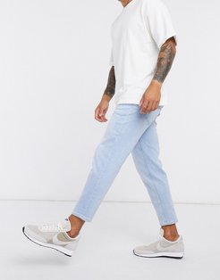 jeans in bleached blue