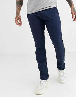 slim fit chino in navy-Blue