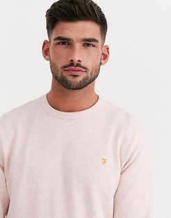 Tim crew neck sweat in pink
