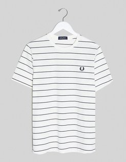 striped t-shirt in white