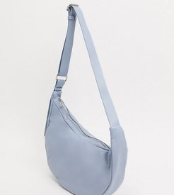 sling tote bag in light blue