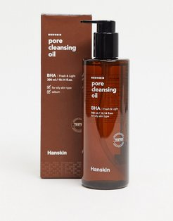 Hanskin Pore Cleansing BHA Oil-No color