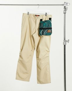 Heritage unisex zip-off pants in khaki-Green