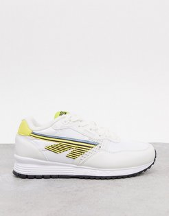 BW 146 runner sneakers in white yellow-Multi