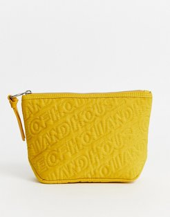 quilted pouch-Yellow