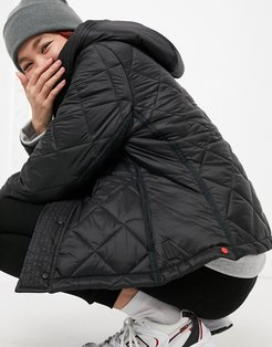 Original Refined quilted jacket in black