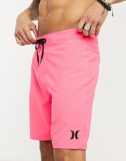 One and Only 20 board shorts in pink