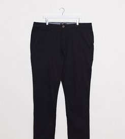 slim fit chino in black