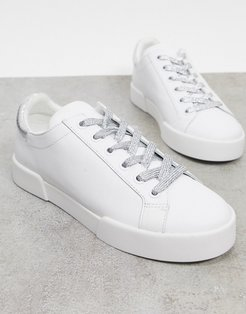 tyler sneakers in white leather