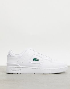 Court Cage panel sneakers in triple white