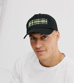unisex cap with logo embroidery-Green