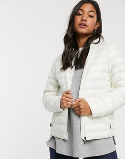 Maria packable jacket-White